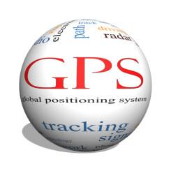 GPS 3 D Kugel mit Beschriftungen