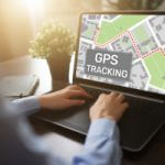 GPS Tracking am Notebook